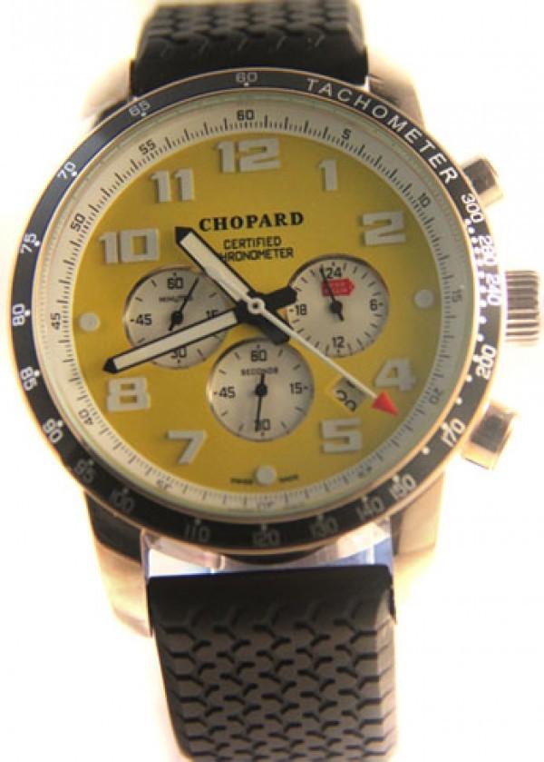 d560598cf6a Réplica de relógio Réplica de Relógio Chopard Mille Miglia Silver Yellow ...