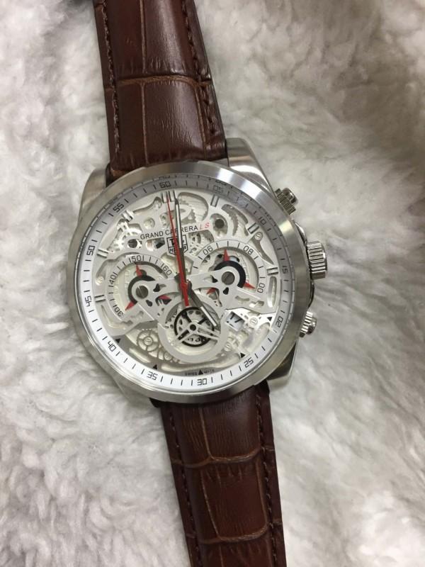 Réplica de relógio TAG Heuer CR7 COURO NRTHCR7-007