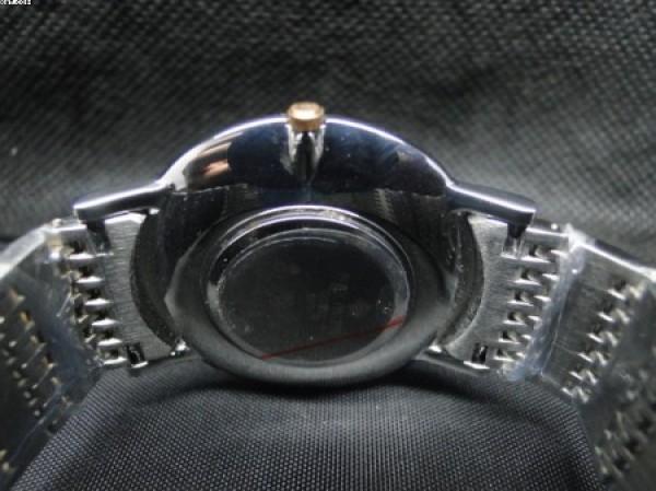 Réplica de relógio RÉPLICA DE RELOGIO PATEK PHILIPPE SLIM MISTO FUNDO DOURADO - PTK07