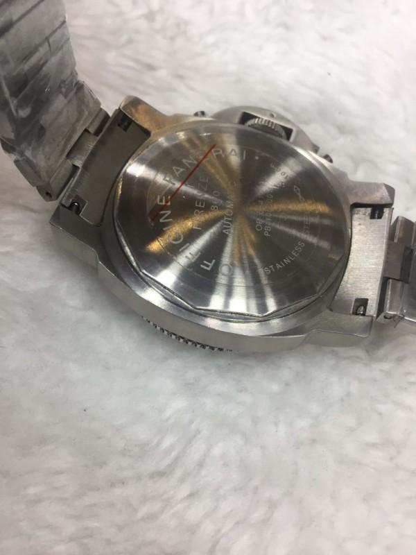 Réplica de relógio Panerai Aço RPANE-001