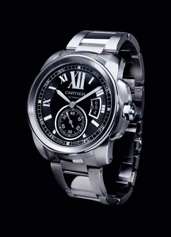 Réplica de relógio Relógio Réplica Cartier Calibre Aço