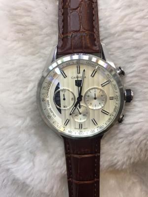 Réplica de relógio TAG Heuer Pulseira Couro NRTHPC-002