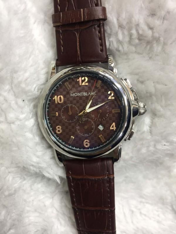 Réplica de relógio MontBlanc Couro MBC-009