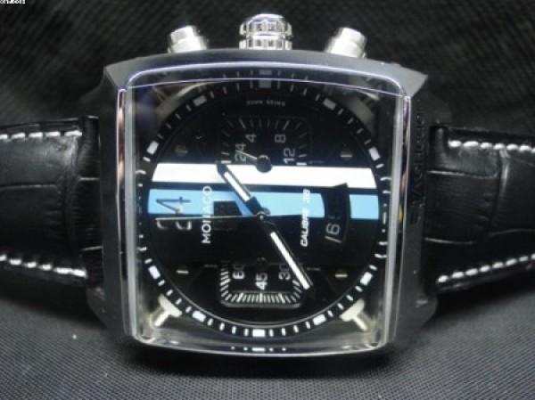 802c30fc9c7 ... Réplica de relógio RÉPLICA DE RELOGIO TAG HEUER MONACO CAIXA AÇO COURO  - TAG38 ...