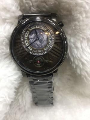 Réplica de relógio Cartier lançamento Aço CLPA-003