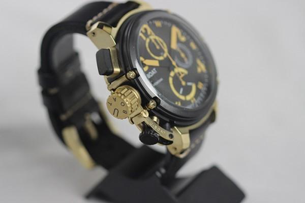 Réplica de relógio Réplica de Relógio U-Boat Italo fontana edition Limited gold