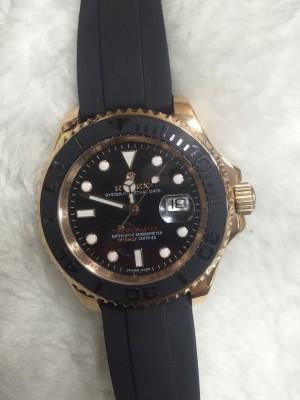 Réplica de relógio Rolex Yacht-Master  Borracha RRYMB-001