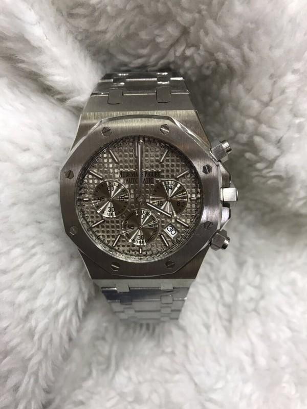 Réplica de relógio AUDEMARS PIGUET PULSEIRA AÇO COM CRONO APAC-002