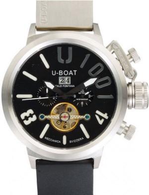 Réplica de relógio U-Boat U-1001 preto