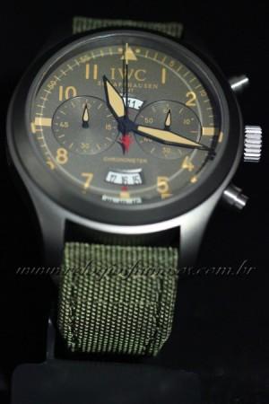 Réplica de relógio IWC TOP GUN MIRAMAR GMT