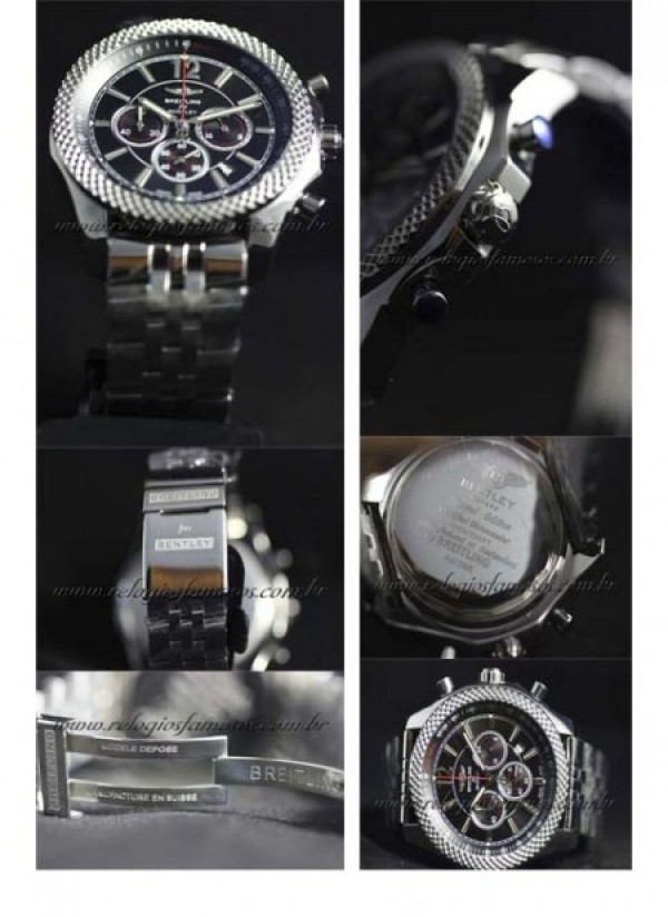 Réplica de relógio BREITLING FOR BENTLEY