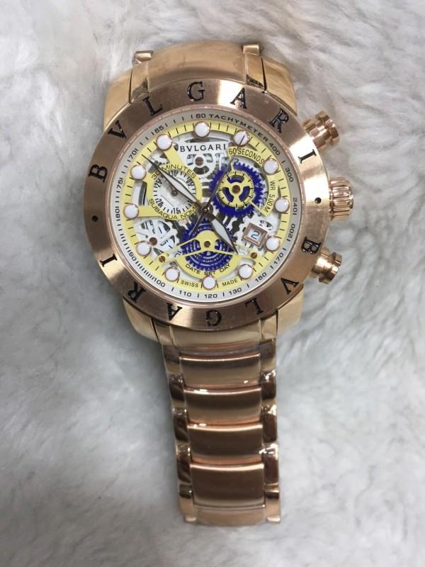 Réplica de relógio Bvlgari Novo Com Safira BVNCS-0015