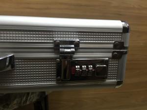 Réplica de relógio Estojo Aluminio CX24AL-001