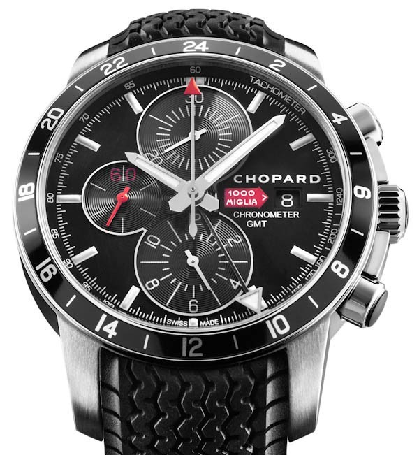 Réplica de relógio Réplica de Relógio Chopard Mille Miglia Chrono Gmt Black
