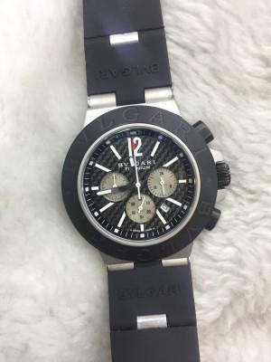 Réplica de relógio Bvlgari Pulseira Borracha Novo  RBBN-009