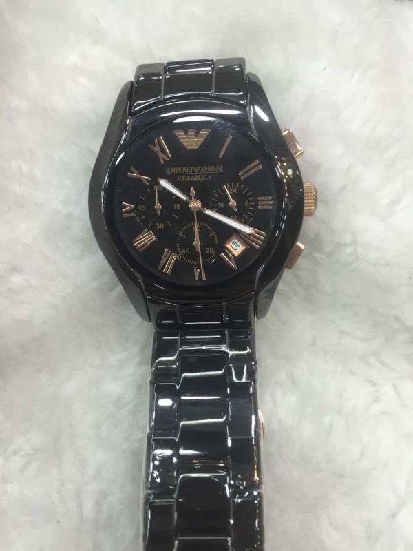 Réplica de relógio Armani AR Cerâmica  ARCE-001