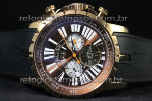 Réplica de relógio RÉPLICA DE RELÓGIO ROGER DUBUIS TURBILION CHRONOEXCEL