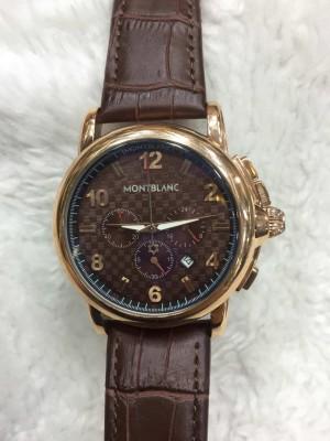 Réplica de relógio MontBlanc Couro MBC-006