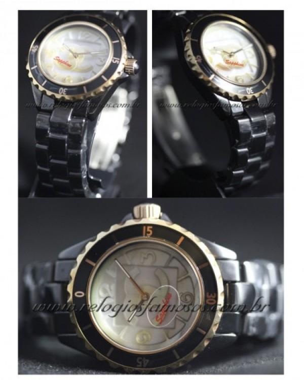 Réplica de relógio REPLICA DE RELÓGIO CHANEL PARIS CERAMICA