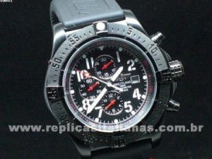 Réplica de relógio REPLICA DE RELOGIO BREITLING AVENGER PVD - BRT22