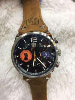Réplica de relógio TAG Heuer John Couro NRTHJC-001