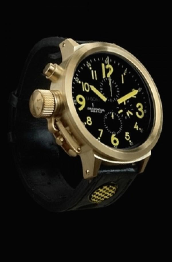 Réplica de relógio Réplica de Relógio U-Boat Precious Metal Red Gold