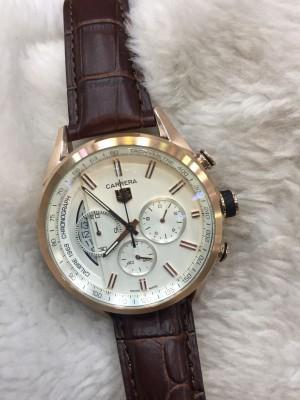 Réplica de relógio TAG Heuer Pulseira Couro NRTHPC-007