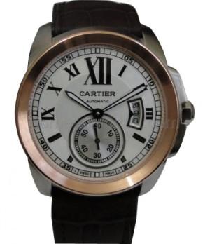 Réplica de relógio Réplica de Relógio Cartier Calibre Rosê