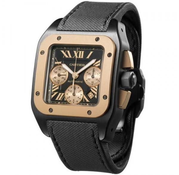 eeecf66180e Réplica de Relógio Cartier Santos em até 3x sem juros no cartão.