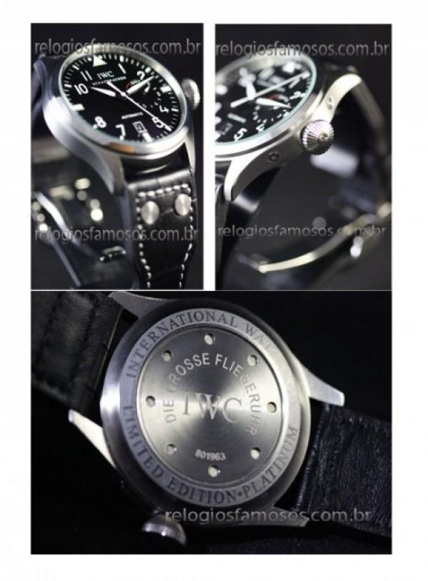 58c86c66126 ... Réplica de relógio RÉPLICA DE RELÓGIO IWC DIE GROSSE FLIEGERUHR ...