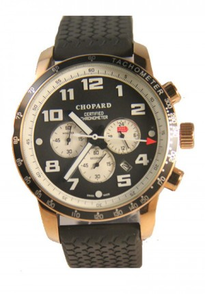 Réplica de relógio Réplica de Relógio Chopard Mille Miglia Gold Black