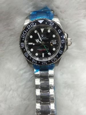 Réplica de relógio Rolex GMT Pequeno 40mm RGMTP-003