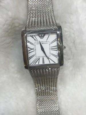Réplica de relógio Empório Armani AR Quadrado ARQ-004