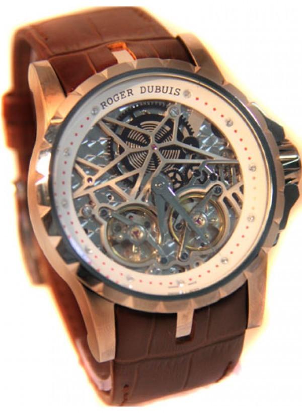 9bb69175457 Réplica de relógio Réplica de Relógio Roger Dubuis Excalibur Esquelette ...