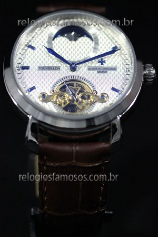 d4c952f7d4c Réplica de relógio RÉPLICA DE RELÓGIO VACHERON CONSTANTIN GENEVE TOURBILLON  ...