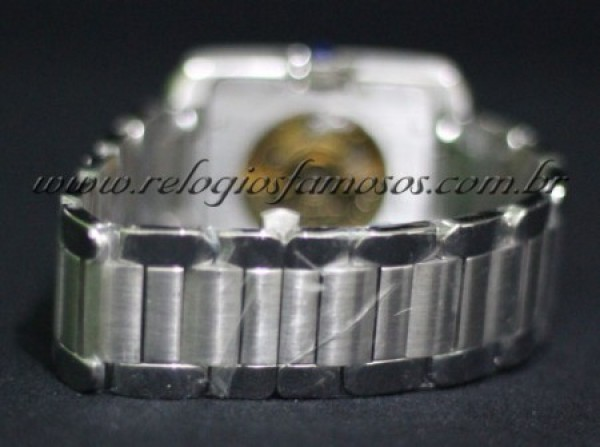 Réplica de relógio CARTIER RETANGOLO AUTOMATIC PRATA (CAR16 )