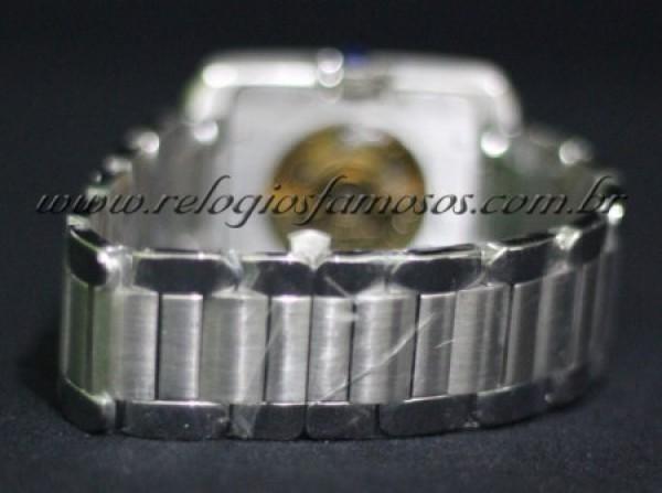 Réplica de relógio CARTIER RETANGOLO AUTOMATIC DOURADO (CAR12)
