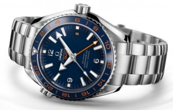 Réplica de relógio RÉPLICA OMEGA SEAMASTER GMT 600m AZUL - OME14