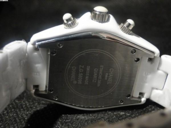 Réplica de relógio REPLICA DE RELOGIO CHANEL J-12 STRASS - CHN01