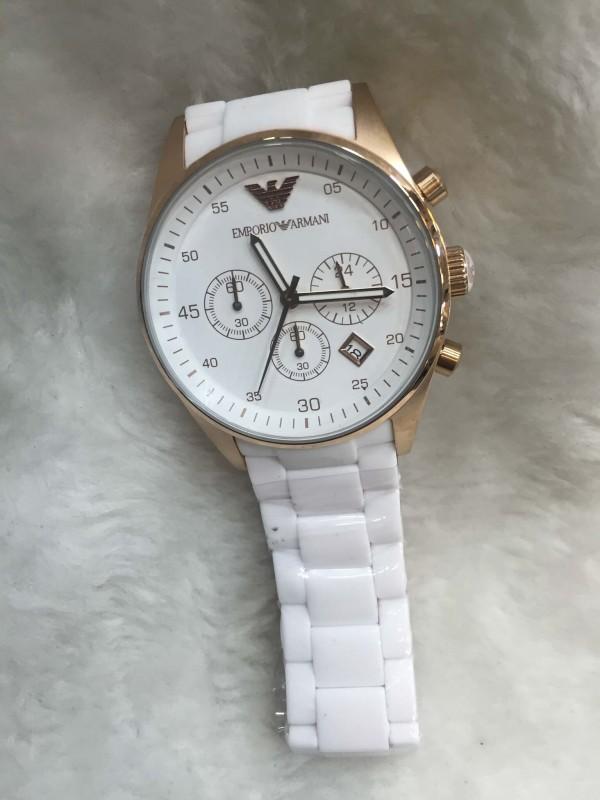 Réplica de relógio Empório Armani AR Borrachada ARMBPO-009