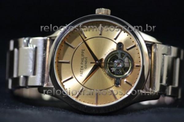 Réplica de relógio RÉPLICA DE RELÓGIO PATEK PHILIPPE GENEVE TOURBILLON