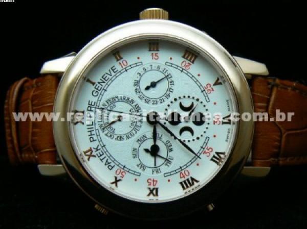 Réplica de relógio REPLICA DE RELOGIO PATEK PHILIPPE SKY MOON DUAL - PTK06