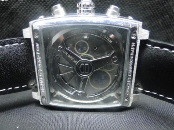 a7b82346a96 Réplica de relógio RÉPLICA DE RELOGIO TAG HEUER MONACO CAIXA AÇO COURO -  TAG38 ...