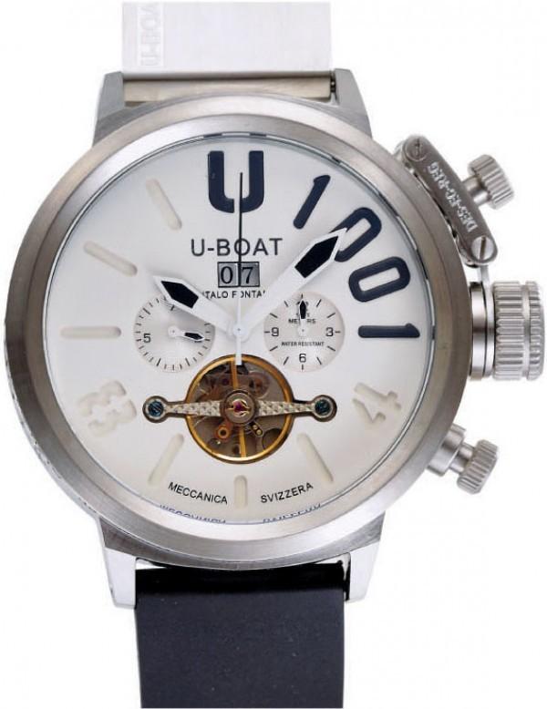 Réplica de relógio Réplica de RelógioU-Boat U-1001 Branco