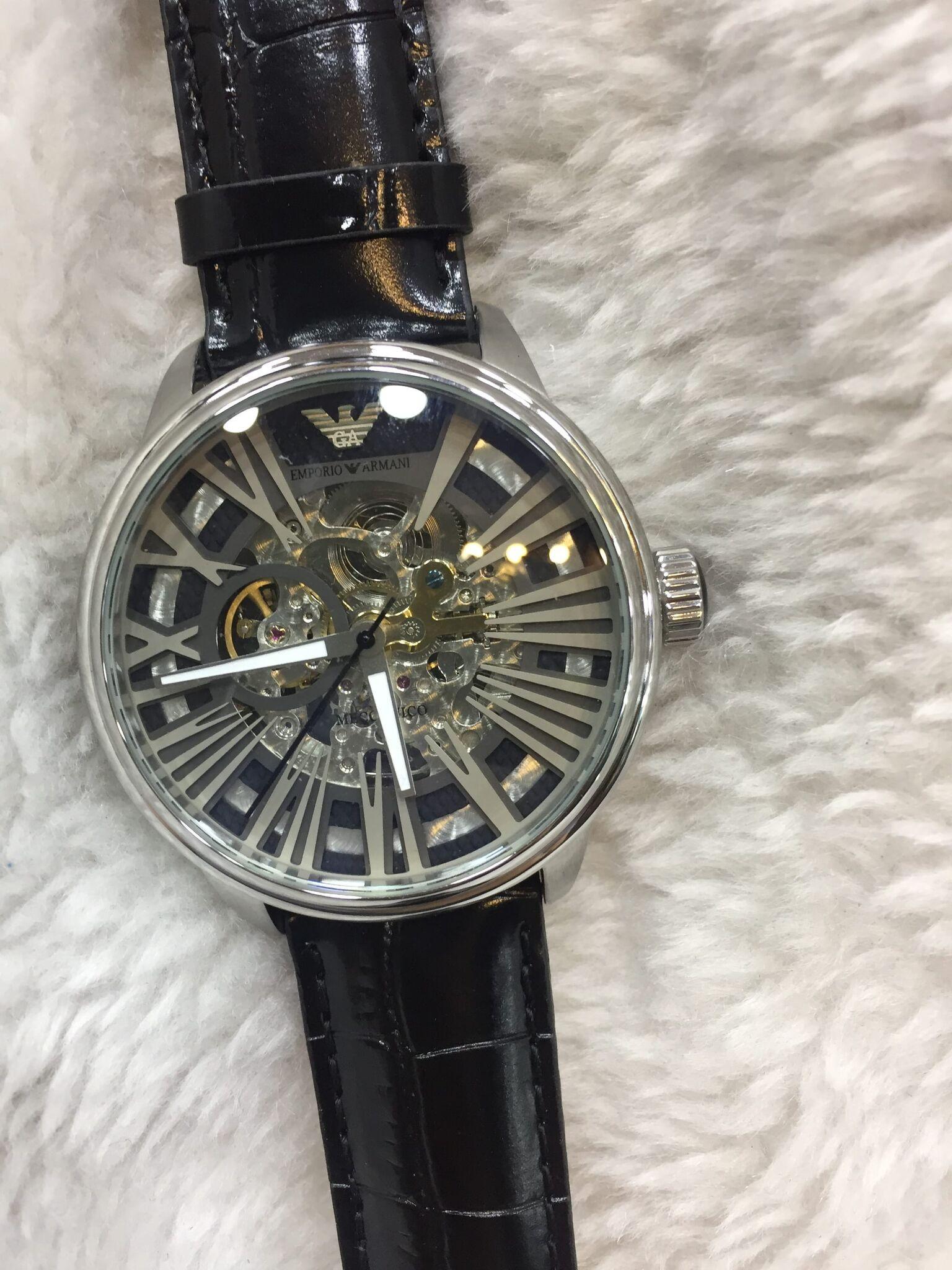 c82736b1071 Réplicas de relógios Empório Armani qualidade AAA em até 12X ...