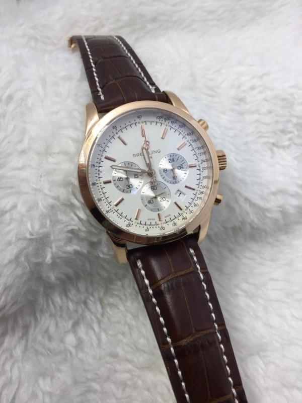 Réplica de relógio Breitling Pulseira Couro RBPCN-005