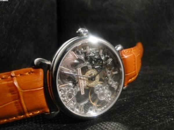 ebb40f2c8a3 Réplica de relógio REPLICA DE RELOGIO VACHERON CONSTANTIN GENEVE SKELETON  PRATA - VAC03 ...