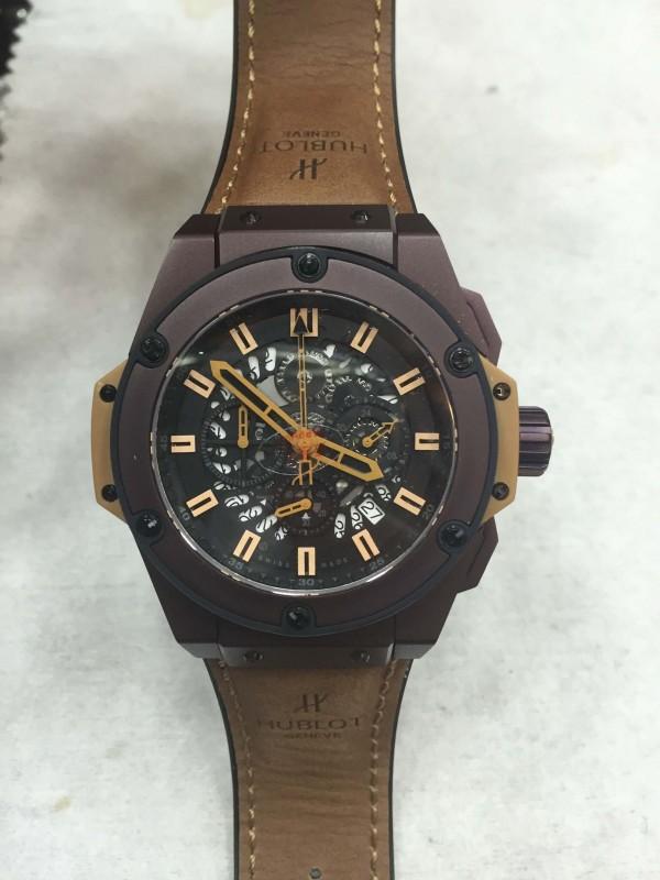 Réplica de relógio Hublot King Power  HKP-0011