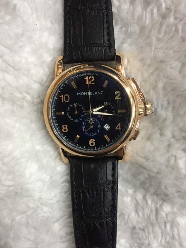 Réplica de relógio MontBlanc Couro MBC-008