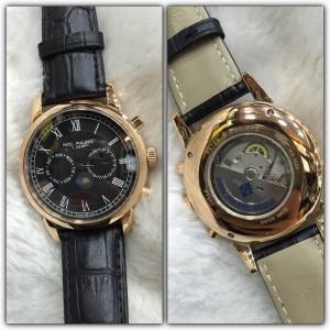 Réplica de relógio Patek Philippe Com Safira Autom PPACS-006